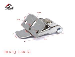 2 Unidades / lote llevó lámparas de panel de fijación de resorte Abrazadera downlight fijación de clips de resorte soporte de metal