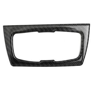 Para BMW 3 Series GT / 4 Series F30 32 33 80 83 Tablero de fibra de carbono Dashboard Interruptor de faro negro Recortar actualizaciones interiores con cinta