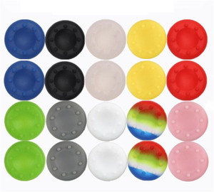 1000pcs lot Soft Skid-Proof Silicone Thumbsticks cap Thumb stick caps Joystick covers Grips cover for PS3 PS4 XBOX ONE XBOX 360 controllers