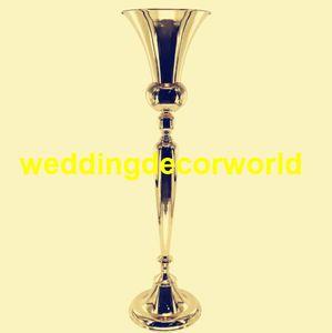 Nuovo stile 98 centimetri di altezza in metallo vaso di fiori da tavolo centrotavola con apertura per Mariage Wedding Party Event Decoration decor231