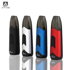 Vehículos todo terreno original Ghost Starter Kits 350mAh batería de la caja portable de la MOD 1,5 ml cartucho de cerámica vaporizador Kit 100% auténtico 3