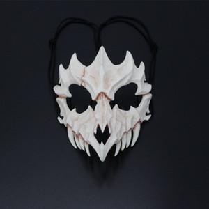 2019 Yeni Cadılar Bayramı Maskeleri Yetişkin Japon Prajna Cadılar Bayramı 45 @ Giyim Koleksiyonu Duvar Asma Maske Maskaralara de Maske