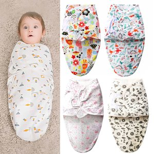 Baby Swaddle Blanket Baby Sleeping bags Baby Sleepsacks Wraps Infant SwaddCling Sleep Bag Infant Wrap Bags Cotton RN8011