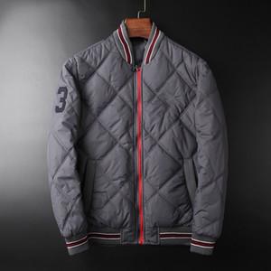 Мужские MA1 Bomb куртки Номер 3 Printed Полосатый Зимнее пальто Мужской Parka ветровка Верхняя одежда
