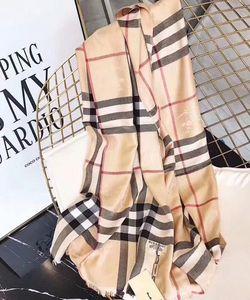 regalo delle donne di alta qualità di grado superiore al 100% dimensione sciarpa di cachemire di grado superiore a quadri 180 * 70cm per gli uomini e le donne