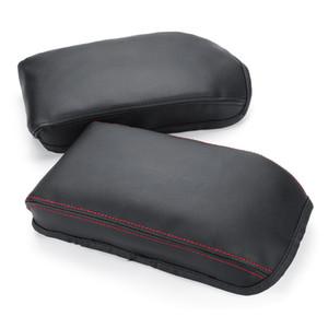 Car Styling Center Console assento braço Box Cover Pu Couro Decoração Para Skoda Octavia A7 2015-