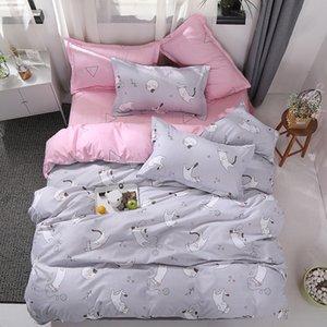 BEST.WENSD High-grade bed set bedclothing 3 4 piece set beddings kids twin queen bed linen+duvet covers+pillow case jogo de cama