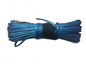 10MM 30M 12 Strand UHMWPE Synthetic Rope 4X4 ATV Torno con dedal