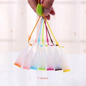سيليكون كيس شاي مصفاة واضحة الشكل infuser مرشح الناشر استخدام المطبخ صانع الشاي ل التخسيس الصحة XD20588