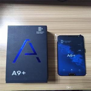 """A9 + 언락 스마트 폰 안드로이드 7.1 구폰 A9 PLUS 4G LTE 6.0 """"옥타 코어 1 / 8G 가짜 4GB RAM 지문을 가진 256GB ROM."""