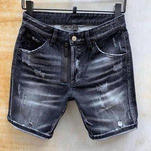 DSENQI nouveaux hommes Jeans COURTS Jeans Pantalons Outwear Man 2048