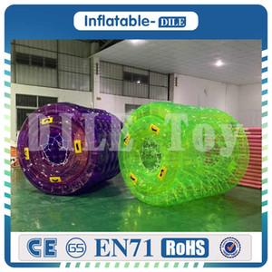 Бесплатная доставка Надувного роллер ходить по воде мяч Акв переходящий мяч, роликовые колеса колеса для взрослых или Kid