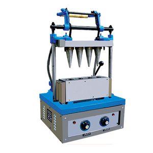 LIVRAISON GRATUITE cornet de crème glacée machine Croustillant moule Crêpe Waffle commerciale Machine verticale Cornet de glace