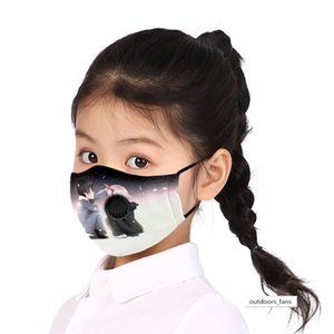 DARLING in the FRANXXpm2.5 filter children's stamp band breathing valve cloth mask washable