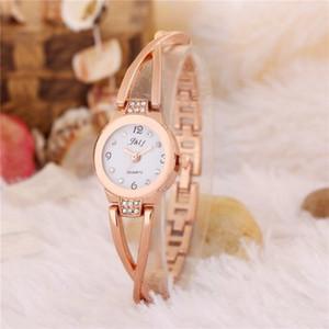 2020 моды популярный женский подарок элегантный сплав золотой кристалл алмаза умный свадебный подарок белый wacth стекло
