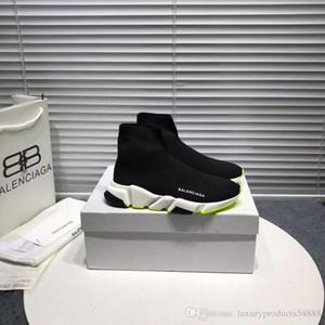 2020 Fashion Luxury Designer Chaussures Femmes Bottes coureur de l'entraîneur de vitesse de qualité supérieure élégante de luxe de chaussures plates Casual 35-45
