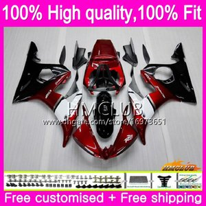 Injection Body For YAMAHA YZF600 YZF R6 YZF 600 CC R 6 03-05 81HM.5 YZF-600 YZF-R6 YZFR6 03 04 05 2003 2004 2005 OEM Pearl red Fairings