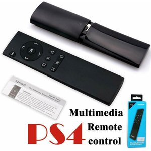 Ultrasottile 2.4G Wireless Multimedia Remote Controller per Playstation 4 per PS4 console di gioco / DVD video Telecomando