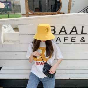 2020 spring summer south Korean web celebrity sun hat double fisherman hat lady outdoor cycling face mask sun hat zyypyf-B-16-11