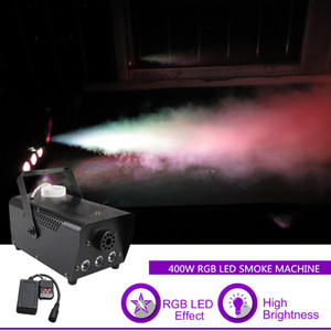 Sharelife Mini 400W RGB LED tragbare Fernbedienung White Smoke DJ Party Show Stage-Lichteffekt Nebelmaschine RGB400