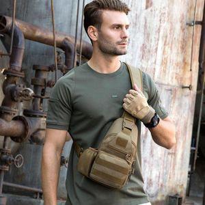 Designer-nuovo modo petto sacchetto maschio antifurto borsa a spalla di sport esterni di ricarica USB Uomini Crossbody pacchetto tempo libero quotidiano Shopping