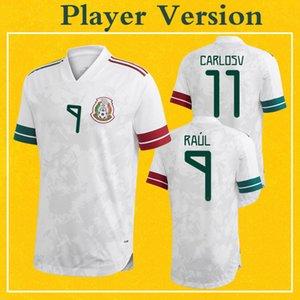 México Player versión de New Jersey de Futbol 2020 RAUL LOZANO CHICHARITO camiseta de fútbol Más 10 piezas de envío libre de DHL