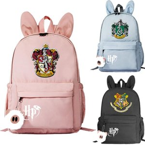Nueva Hogwarts Slytherin Impreso KoreAm mochilas pequeñas para niñas escuela de los niños bolsas bolsas de libros Mujeres linda Mini Mochila Packsack