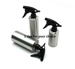 flacone spray in acciaio inox per il giardino / cleanning / capelli / disinfettante 3 dimensioni per la vostra scelta mini ordine 2pcs trasporto libero di quantità
