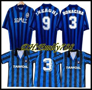 1991 Retro Atalanta 1996-97 Soccer Jerseys Inzaghi Lentini Classic Futbol Vintage Football Camiseta Shirt Kit Maillot Maglia