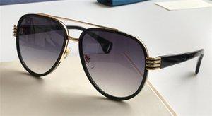 Yeni moda tasarımcısı kadın toptan koruma gözlük UV 400 lens satan en kaliteli popüler stili ile 0447 pilotlar çerçeve güneş gözlüğü