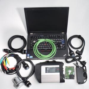 outil de diagnostic automatique pour mb étoile sd c4 avec T410 ordinateur portable utilisé ordinateur i5cpu installer c4 mb star connexion h-dd 2020.03v ensemble complet