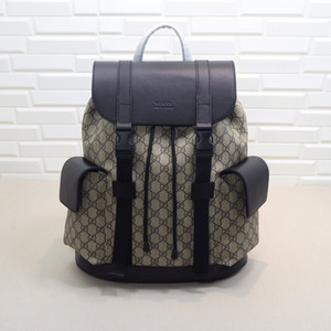 En Qaulity 495563 boyutu 34..42..16 cm İtalya Tasarımcı moda Sırt çantası Toz Astarı ile Ipek Astar Toz paketi ücretsiz Shiping