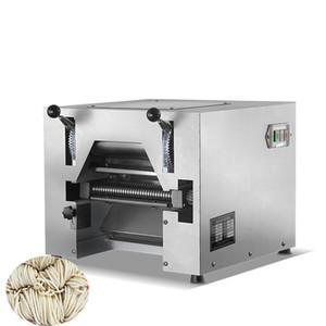 NOVO elétrica Noodles Máquina Dough Noodle Criador Comercial Pasta Máquina Grosso Dumpling Wonton cortador de aço inoxidável