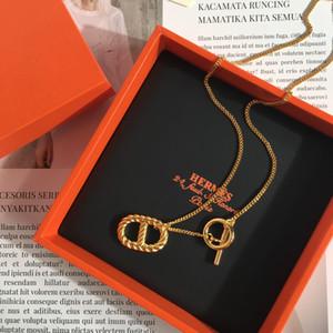 HN2 2020 venta caliente Web oficial collar de H nueva llegada para el regalo de las mujeres de cumpleaños cadena de 45cm envío libre regalo popular de grandes marcas