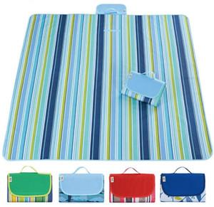 24 Designs Falten Picknickdecke 145 * 200cm moistureproof Picknick-Pad portable junket Teppich Teppiche Zelt Matte Camping-Abendessen Tuch Strandmatte