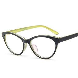 Cat Eye Glasses Frame Women  Vintage Optical Print Frame Cat's Eye glasses computer Eyewear 8 color oculos de grau