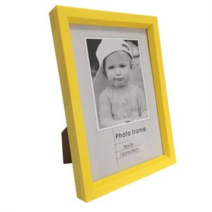 Gift Infant bambino Photo Plastic Frame Photo Desktop Decor Picture Frame Picture Piazza creativi dei bambini