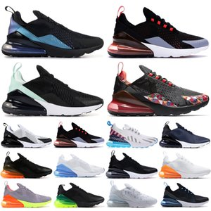 nike air max 270 Nuevo Summer Gradient Blue Void Volt Designer Sneakers 270OG Throwback Future Black Bright Crimson Racer Blue Men Running Trainer schuhe