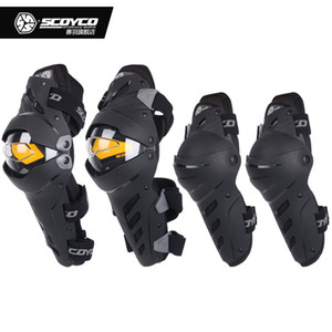Coude genou SCOYCO Motorcycle Combo genouillères de protection pour les hommes Sport Garde Motocross Protecteur vitesse Motocicleta joelheiras