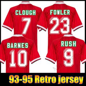Yeni Geliş 1993/1995 Retro futbol Formalar 93/94/95 Rush Fowler Barnes Nicol McManaman 1993/1995 Ev efsanevi Futbol gömlek Retro
