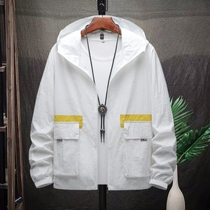 2020 sunscreen coat sunscreen clothes clothes men's casual sports jacket men's fashion brand breathable UV-proof coat