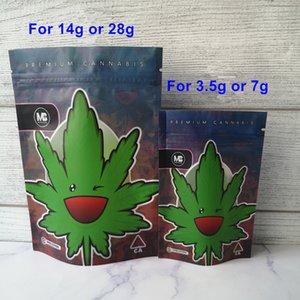 METRO паршивой Майларовые восковые Сумки 420 Упаковки Connected Печенье мешок Stand Up Чехол сухая трава Цветы