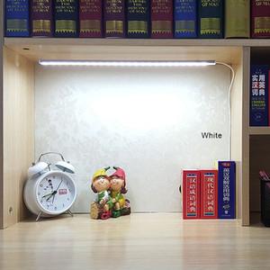Luce della lampada da tavolo di SMD 2835 USB 5V LED Striscia Bar USB Desk LED per lato del letto della lettura del libro di studio Office Work bambini Night Light