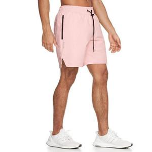 M-XXXL 2020 Shorts Mens Bodybuilding Mesh Quick Drying Men Board shorts Joggers Summer Male Gyms Fitness Workout Beach Short T200705