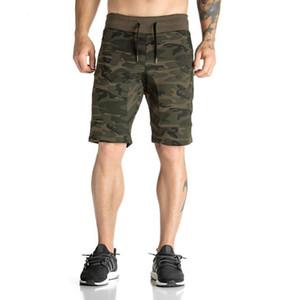 Camouflage Sommershorts für Herren Schnelltrocknend Lose Art Beach Style Weiche und atmungsaktive 5-Cent-Hose