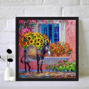 DIY Special Shape Diamond Painting Leather Mural Wall Decoration Kits Diamond Painting Mural Students Hand Tools