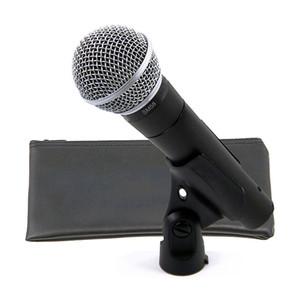 Microphone vocal dynamique SM58S avec interrupteur marche / arrêt pour voix Karaoké micro filaire de haute qualité pour la scène et la maison
