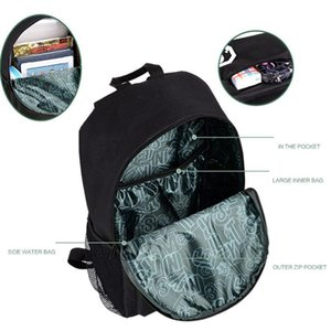School Bag Student Luminous Animation USB Charge Changeover Joint School Bags For Teenager Computer Bag Glow In The Dark Backpacks