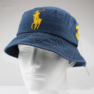 2020 Top design Jeans protezione della benna cappelli logo Fisherman Stingy Brim calcio Secchielli Cappelli Cotone Sun Cap Uomini Donne Cappelli a botte