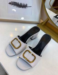 2020 nova vlogo baixo preto de salto alto chinelos moda sandálias femininas rw0s0m60 HWS 0No Z07